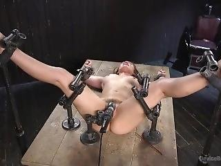 Dani Daniels Bondage And Foot Torture