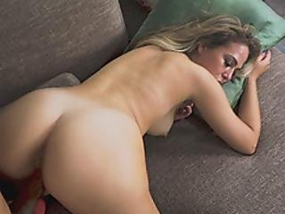 Lovely Babe Craving For Long Dong