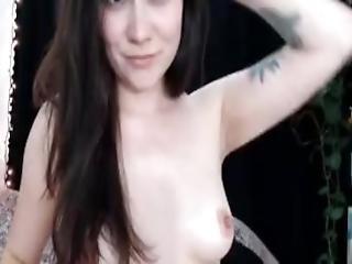 amateur, cul, bonasse, belle, brunette, chatte, nique, masturbation, beau cul, baisage de chatte, solo, étroite, chatte étroite, webcam, mouillée