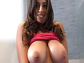 My Huge Tits Stepsister Titty Fucked Me