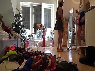 No Panties Teens Party Voyeur