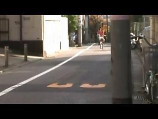 No Panty Ride A Bicycle