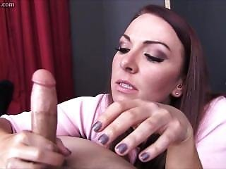 Sexy Teacher Handjob