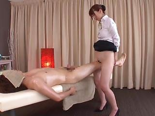 Subtitled traditional japanese bottomless massage yui hatano 3