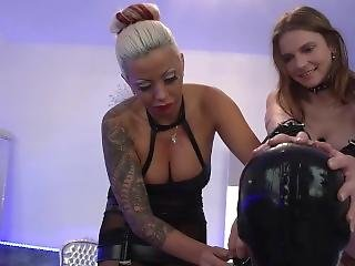 Palace Of Sin - Slave Boy Meets Slave Girl [1/2] (starring Domina Kate)