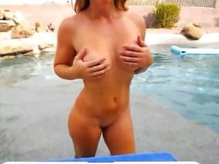 Amateur, Big Tit, Pool, Swimming Pool, Webcam