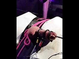 Bondage With Cock Electro Inside And Out