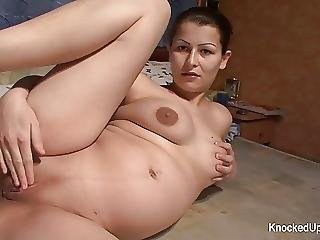 Brunette Babe Is Pregnant And Looking To Fuck