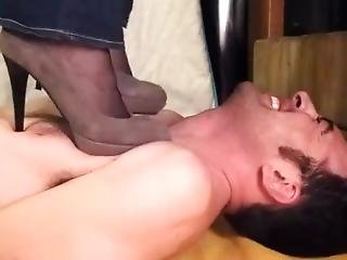 Amatoriale, Fetish, Tacchi, Massaggio, Pompa