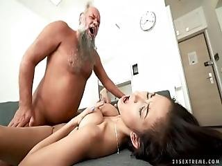 Busty Teen Needs A Mature Dick - Darcia Lee And Albert