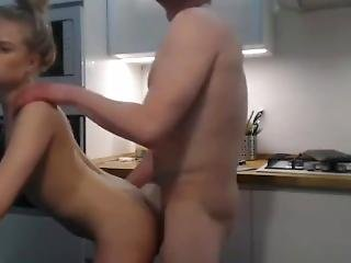 Teens Doggy In The Kitchen Barely Legal