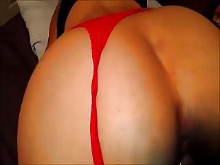 Red Thongs And Doggy Style Fuck