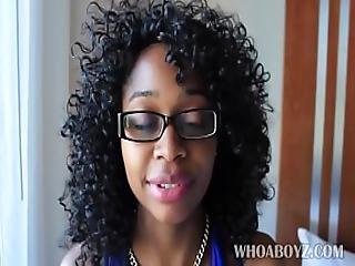 Ebony Banks Gets Fucked Hard By Bbc