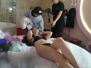 Chinese Backstage Hotel Room Candid Cam 03