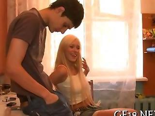 Teen Gigolo Plows A Blonde Russian Beauty
