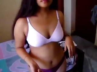 κρεβατοκάμαρα, μεγάλο βυζί, βυζί, μουνί, σέξυ, Teasing, υγρή