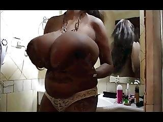 Bbw, Big Boob, Black, Boob, Ebony, Masturbation, Nipples