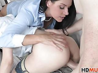 Veronica Radke Gets Sex Education By Mom India Summer