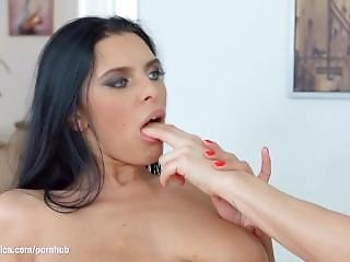 Lesbian Lovemaking With Kyra Queen And Brittany Bardot