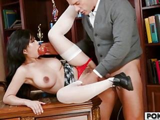 Asian Teen Jade Kush Loves Big Dicks