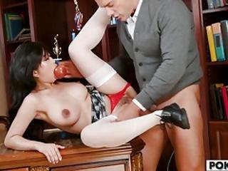 Asian Teen Jade Kush Loves Big Dicks