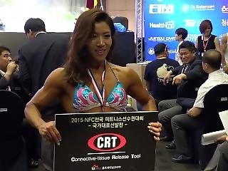 Nice Fantastic Korean Fbb Receiving Her Prizes