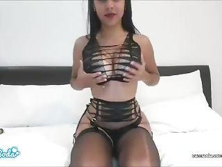 Daniela Baptista Get Her Huge Ass Oiled And Rubbed .