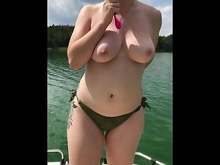 Naughty German Teen Fucking On A Boat + Cumshot On Face!