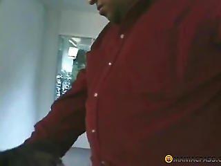 Bellied Bitch Fucks With A Man
