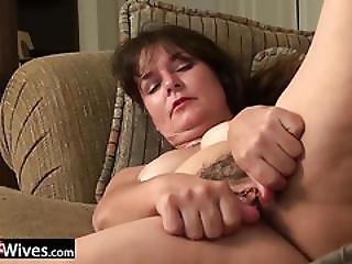 Usawives Granny Lori Leane Solo