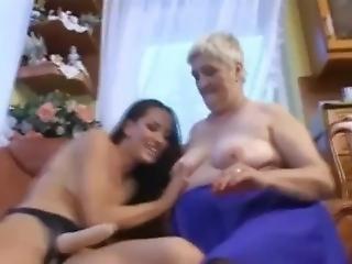 babcia, babunia, lesbijka, dojrzała, zabawki