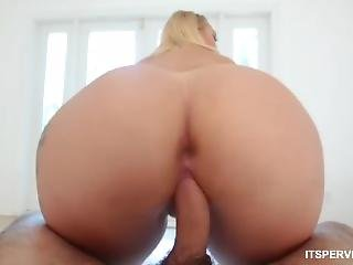 røv, stor røv, stort bryst, blond, tissemand, fantasi, gave, milf, pornostjerne