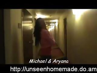 Aryana - Blowjob In Public Stairwell