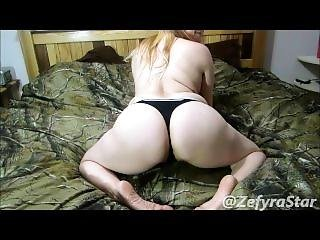 Blonde Bouncing Booty