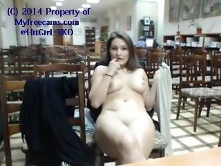 babe, brunette, offentlig, alene, student, webcam