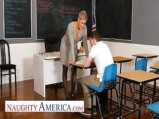 Naughty America - Professor Conner Pops A Cherry