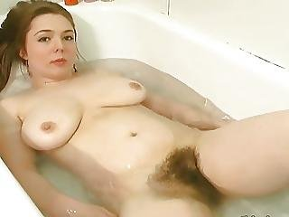 Young Hairy Redhead Bathes And Lotions Her Hairy Body?p=13
