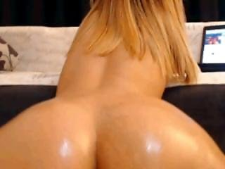 Oiled Booty Shaking Hot!