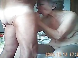 Grandparents In Bedroom