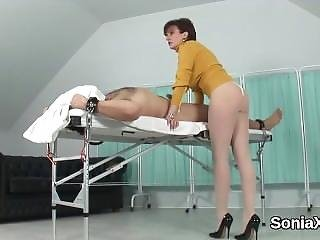 Adulterous Uk Mature Lady Sonia Reveals Her Oversized Tits