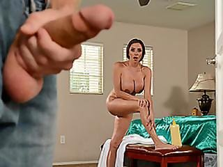 Superb Milf Ariella Ferrera Double Fucked By Her Sons Pals