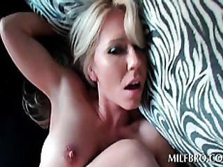 Tits Flaunting Milf Humps Pecker In Pov Style