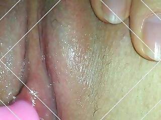 Playing With German Teen Pussy