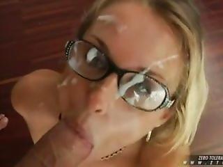 Cumshot On Glasses Compilation