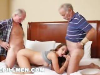 BLUEPILLMEN - Introducing Old Man Duke to Teen Naomi Alice (bpm14870)