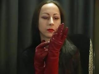 Red Leather Gloves, Smoke And Her Slave