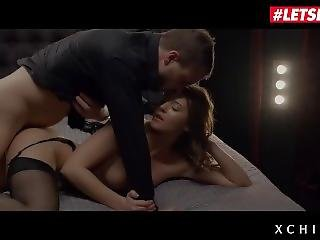 Letsdoeit - Busty Teen Sybil Has Passionate Rough Sex With Her Rich Lover