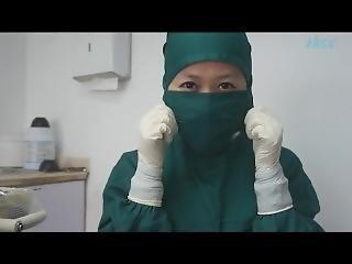 Chinese Gloves Nurse