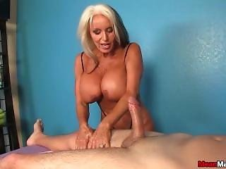 Experienced Lady Dominant Handjob