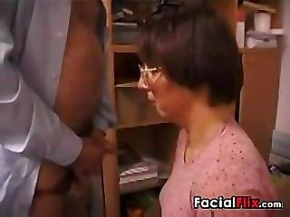 Ugly Mature Woman Gets Fucked